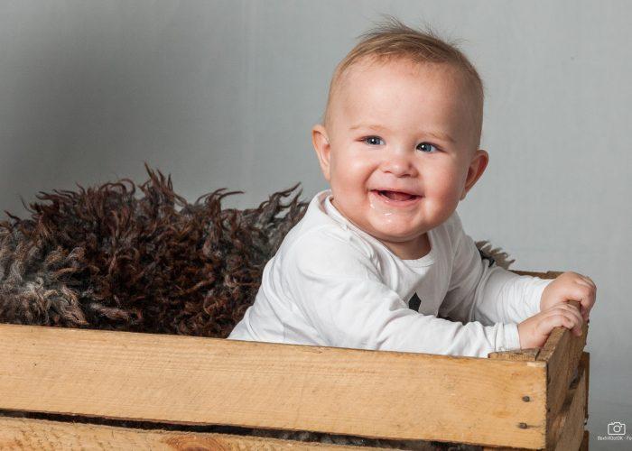 Fotografering af barnebarnet