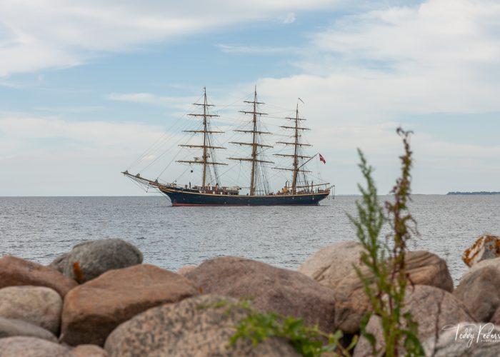 Skoleskibet Georg Stage på besøg i Havnsø